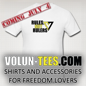 Volun-Tees! Wear your freedom on your sleeve!