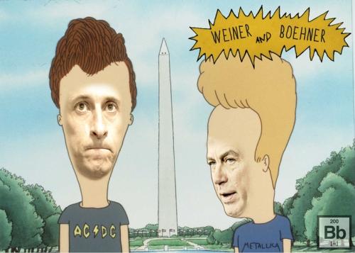 Weiner and Boehner Do America
